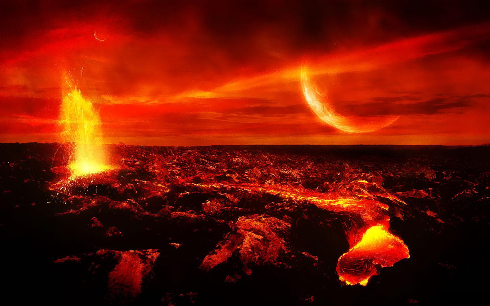 Огненная планета