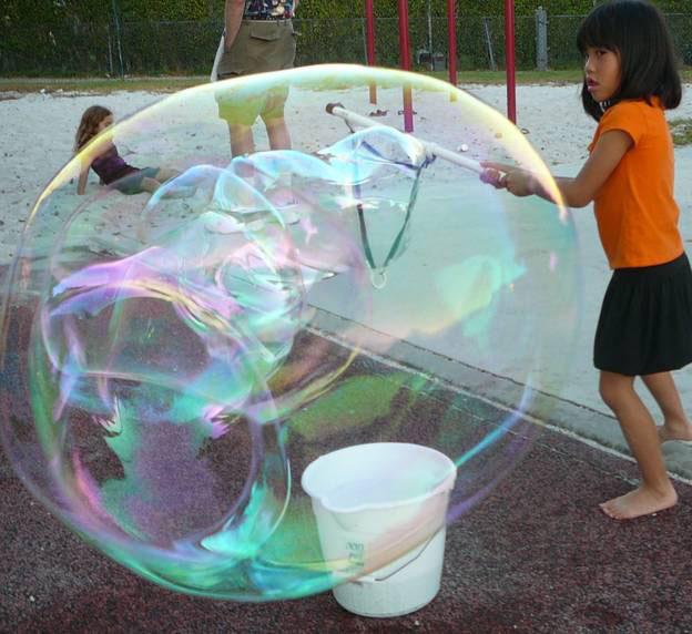 Установка мыльных пузырей своими руками - ЛЕГИОН