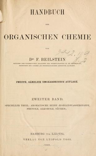 Справочник Бейльштейна (Handbuch der organischen Chemie)