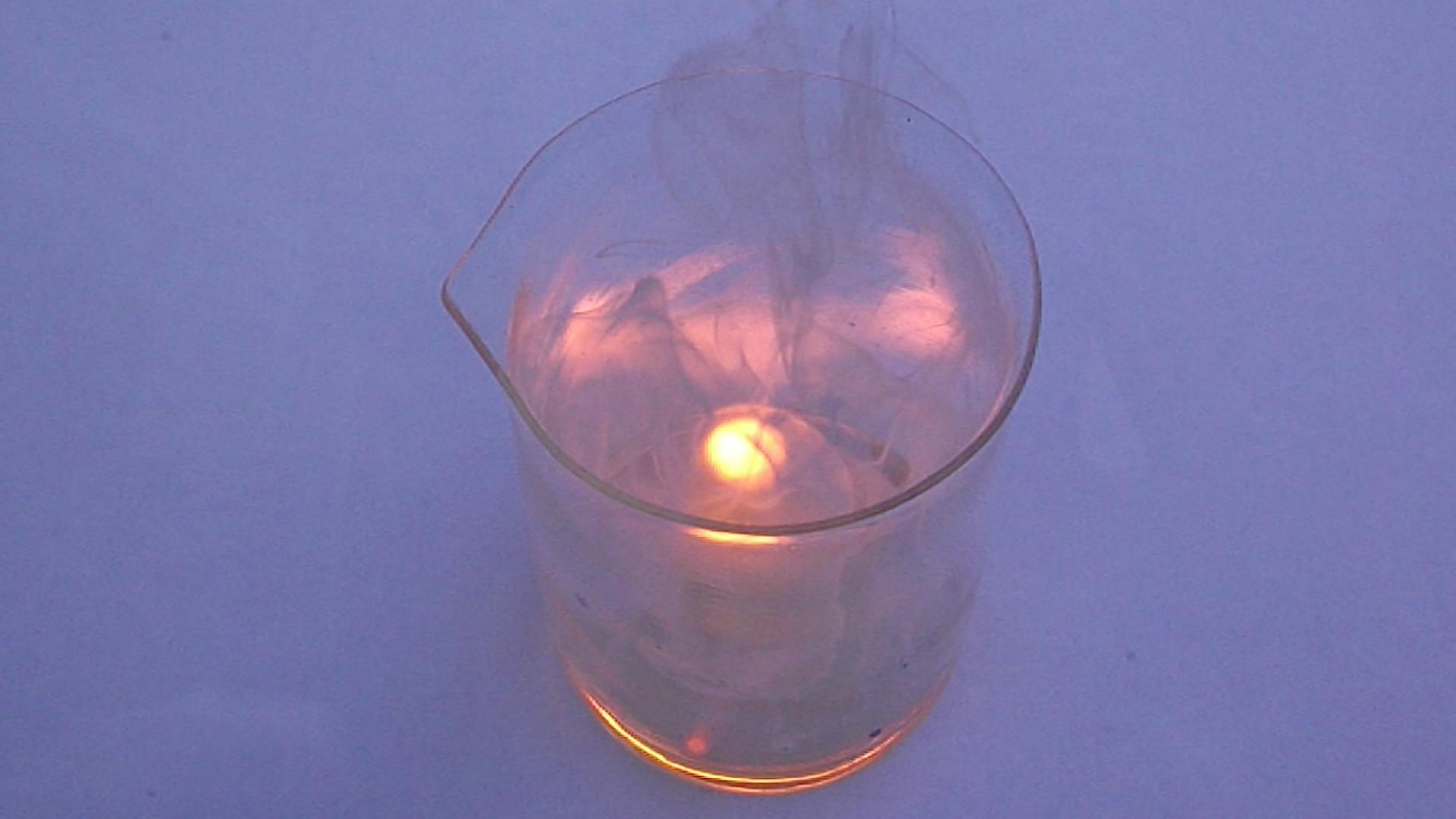 Реакция калий-натриевого сплава с концентрированной серной кислотой