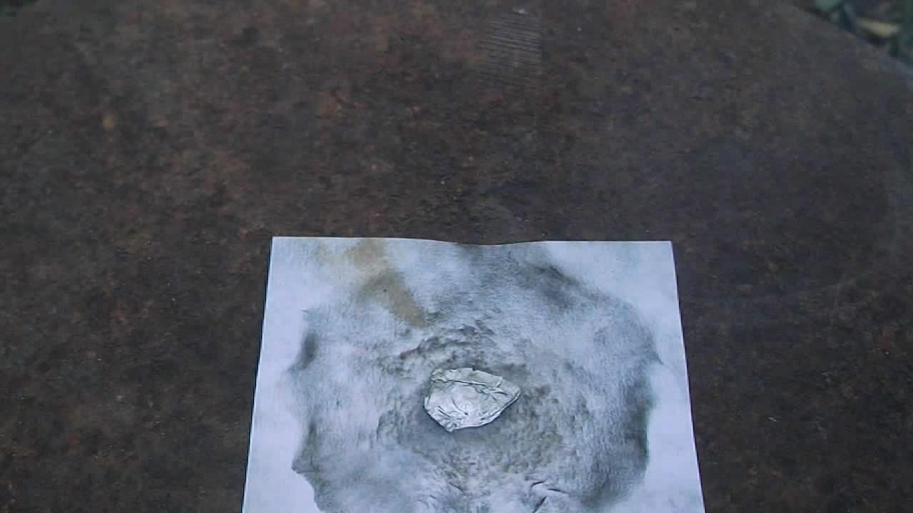 Реакция калий-натриевого сплава с четыреххлористым углеродом