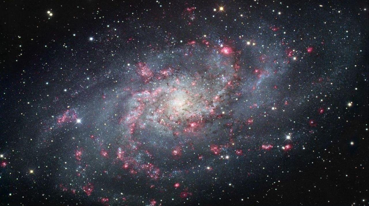 Галактика M 33 (галактика Треугольника)