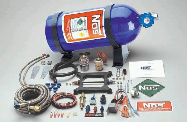 Система для впрыскивания закиси азота в двигатель