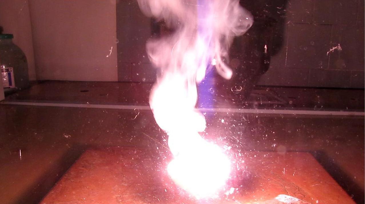 Литий и концентрированная азотная кислота