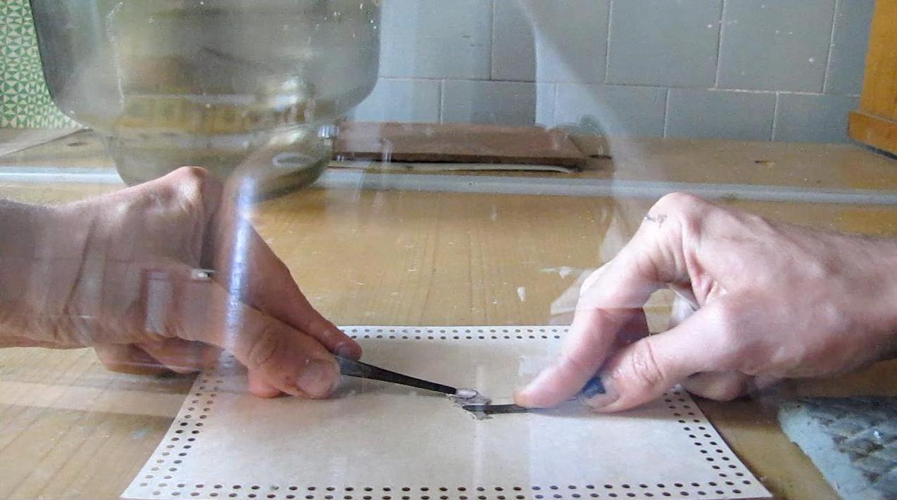 Реакция натрия с водой