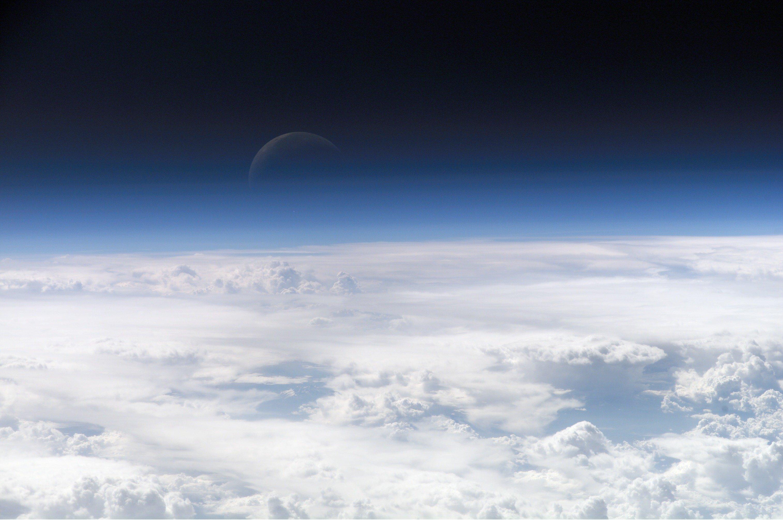 Верхние слои атмосферы Земли