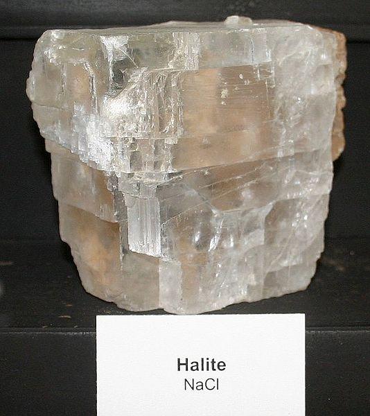 Минерал галит - хлорид натрия