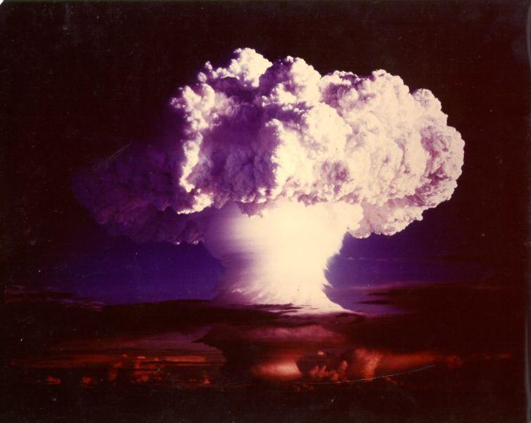Взрыв термоядерного устройства ''Майк''