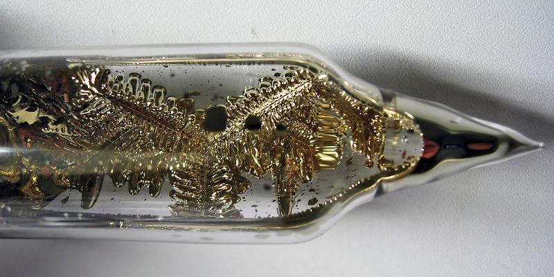 Кристаллы цезия