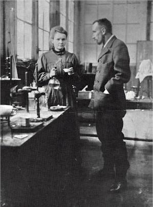 Мария и Пьер Кюри