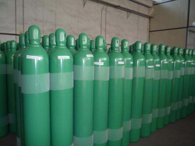Баллоны с водородом