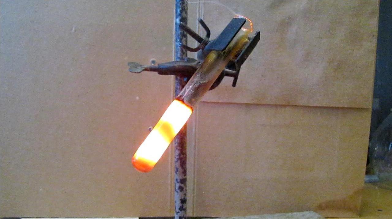 Реакция магния и диоксида кремния