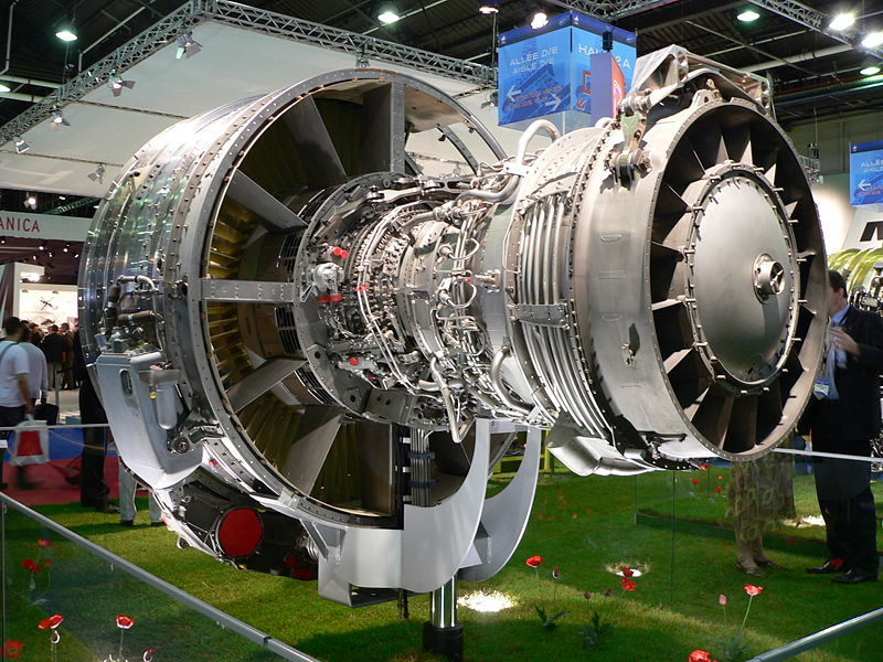 Турбинные лопатки этого авиадвигателя содержат 3% рения