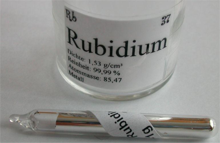 Металлический рубидий