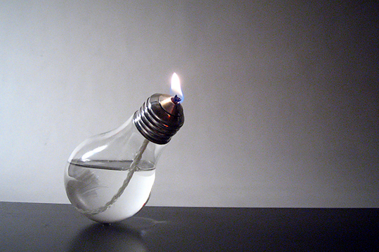 Лампочка в одну свечу