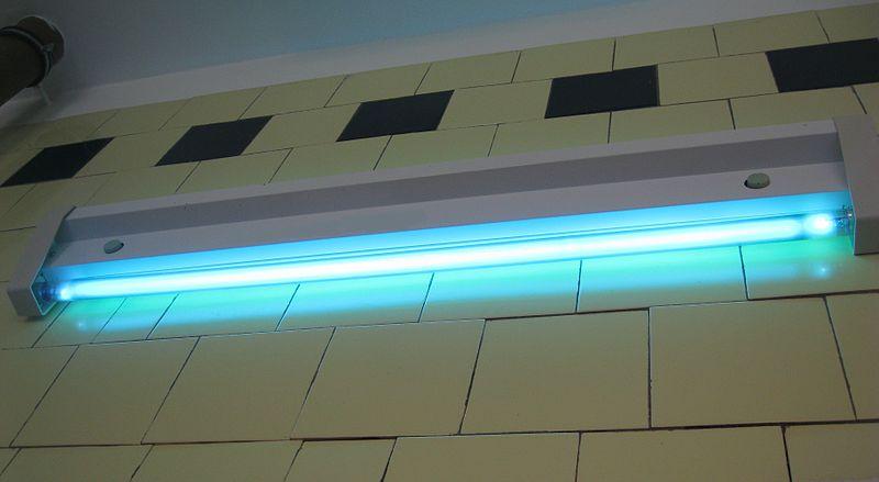 Кварцевая (бактерицидная) лампа