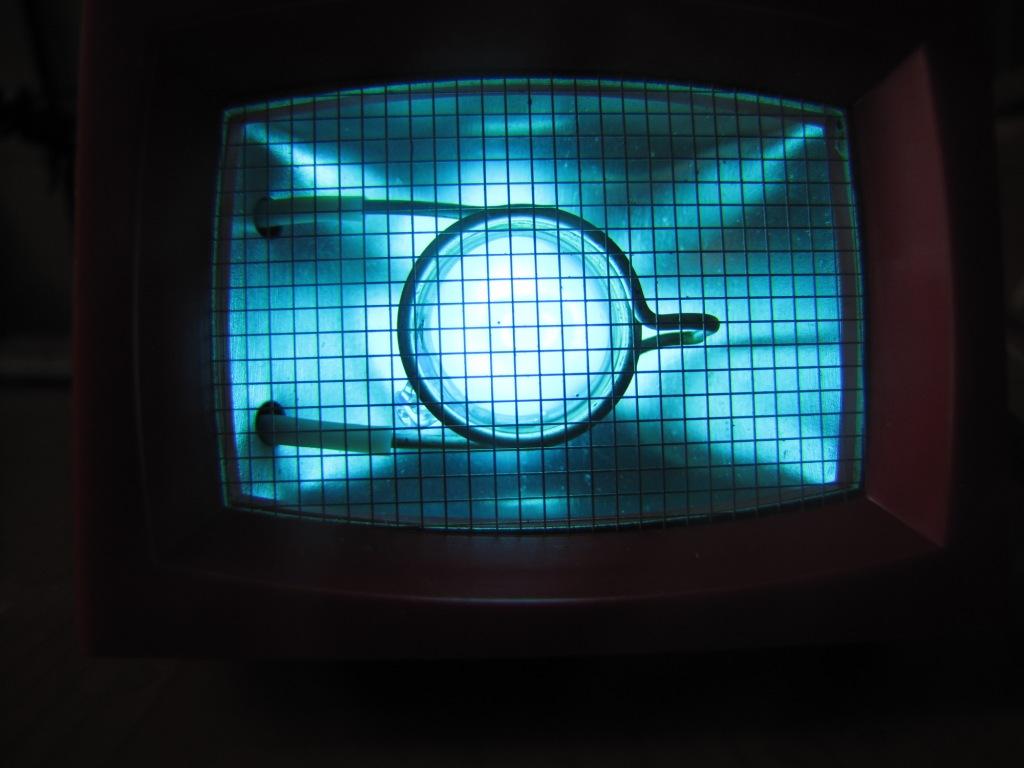 Ультрафиолетовая лампа (без светофильтра)