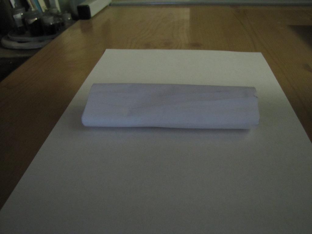 Бумага в ультрафиолетовом свете