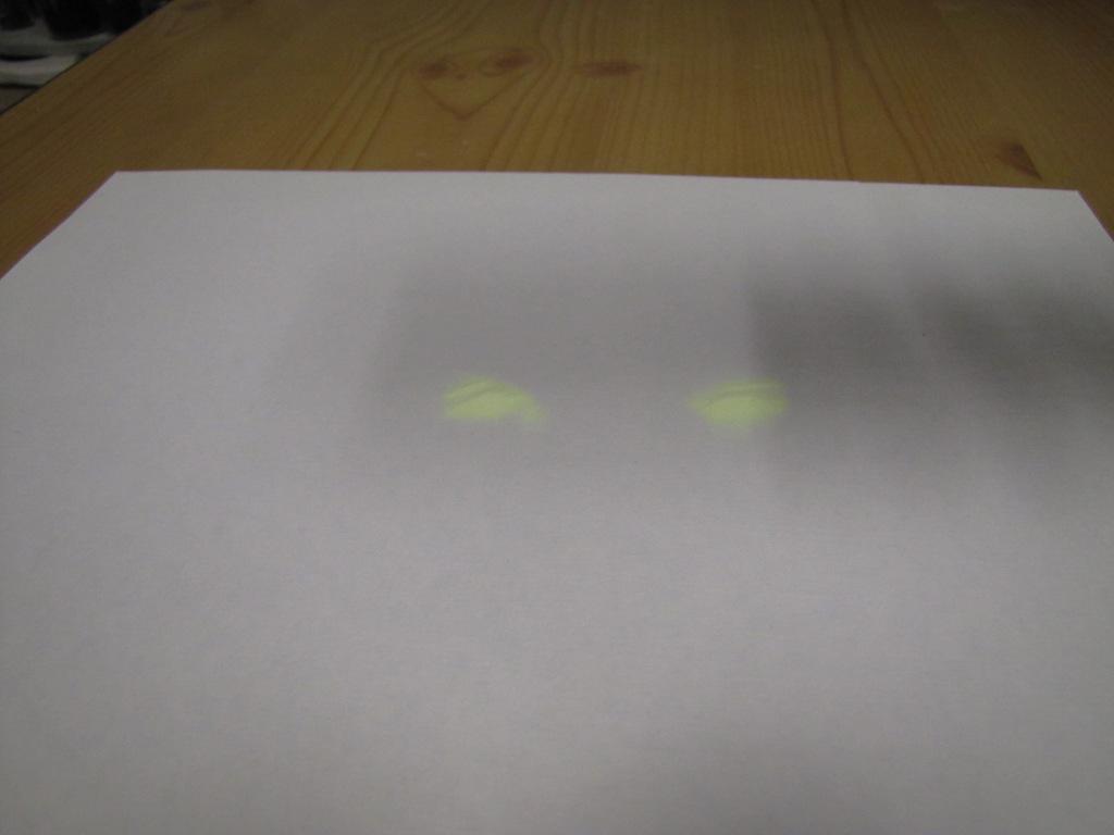 Ультрафиолетовая лампа, стекло и люминофор