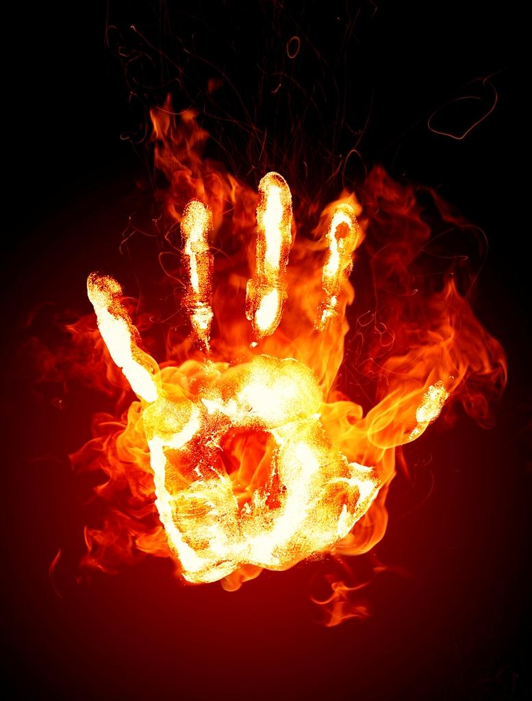 Огненная ладонь
