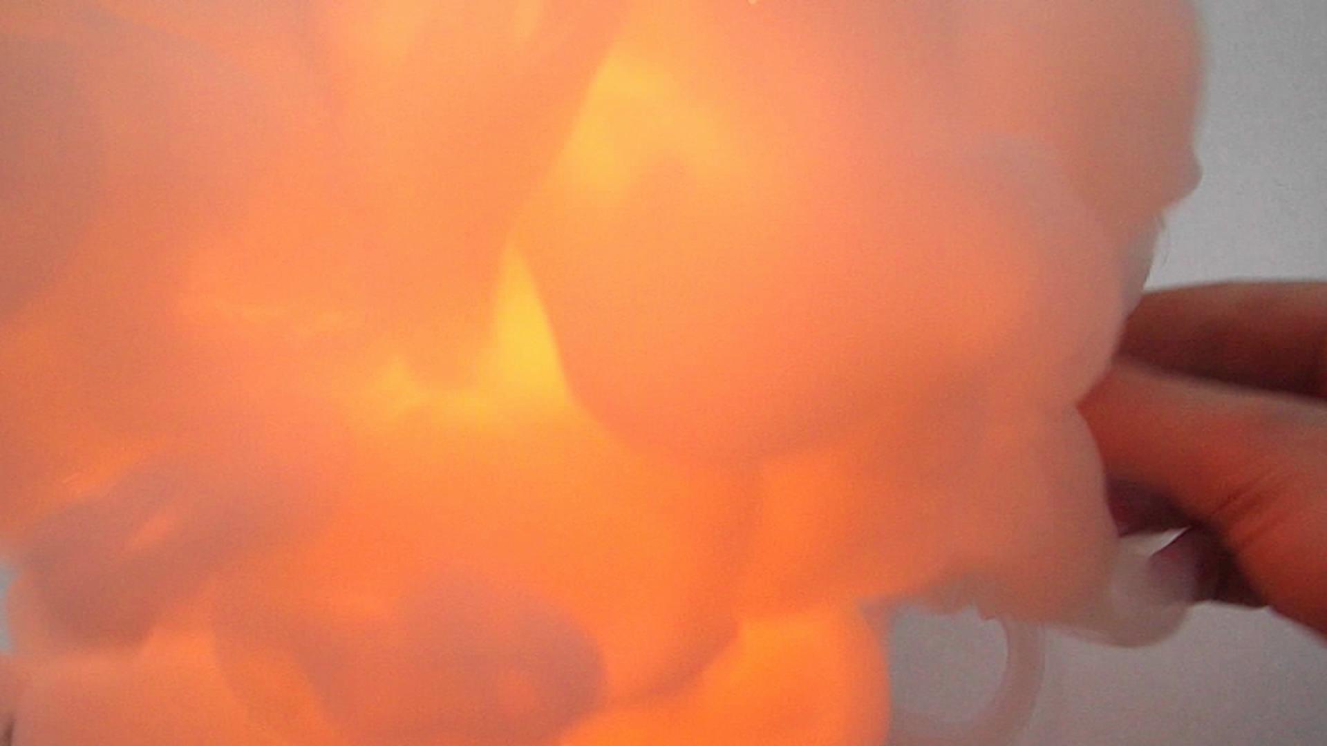 Огонь на ладони (хлорат калия - желтая кровяная соль)