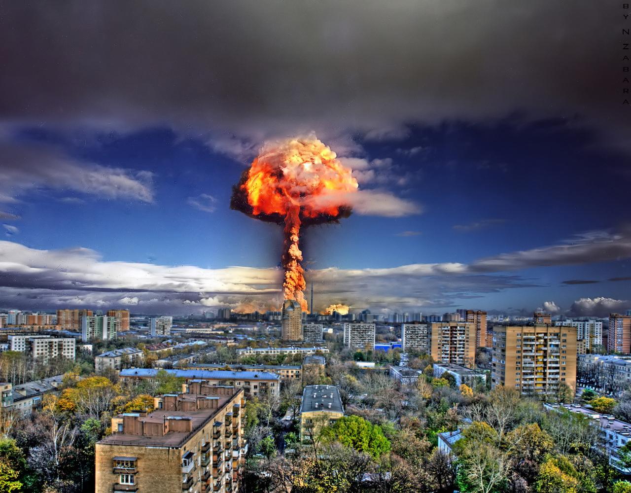 Атомый взрыв