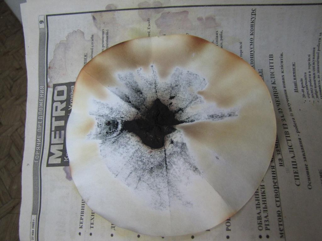 Получение иодистого азота (нитрида иода)