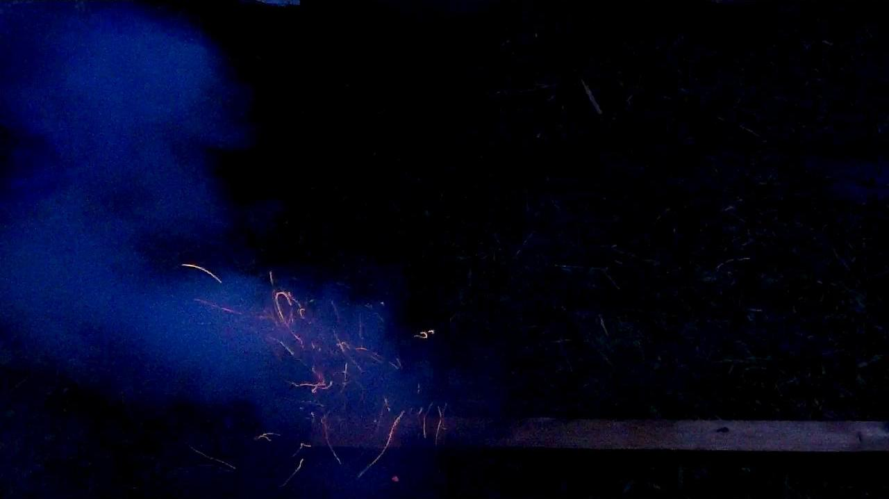 Порох Бертолле - взрыв