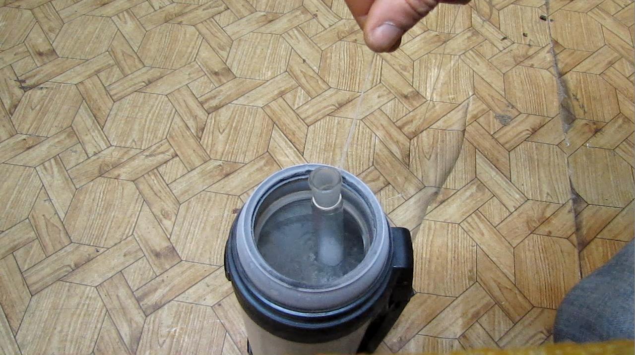 Замораживание толуола