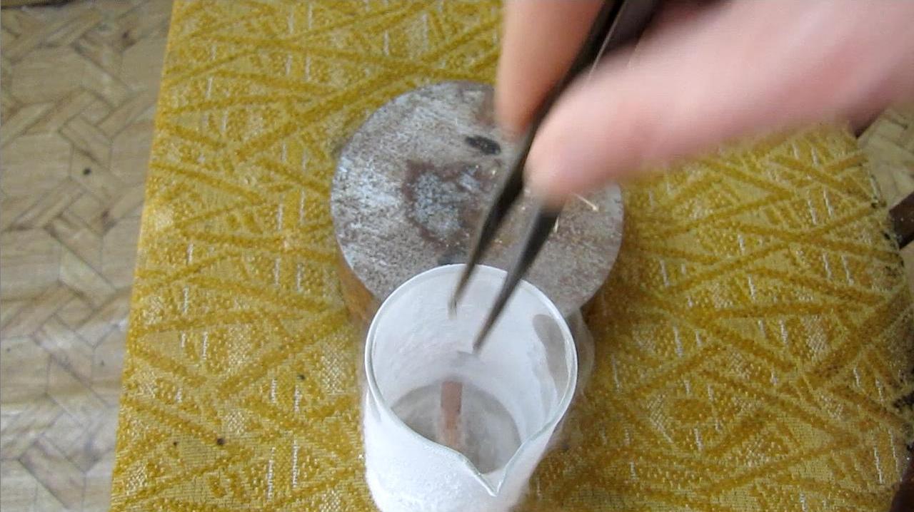 Разбивание резины