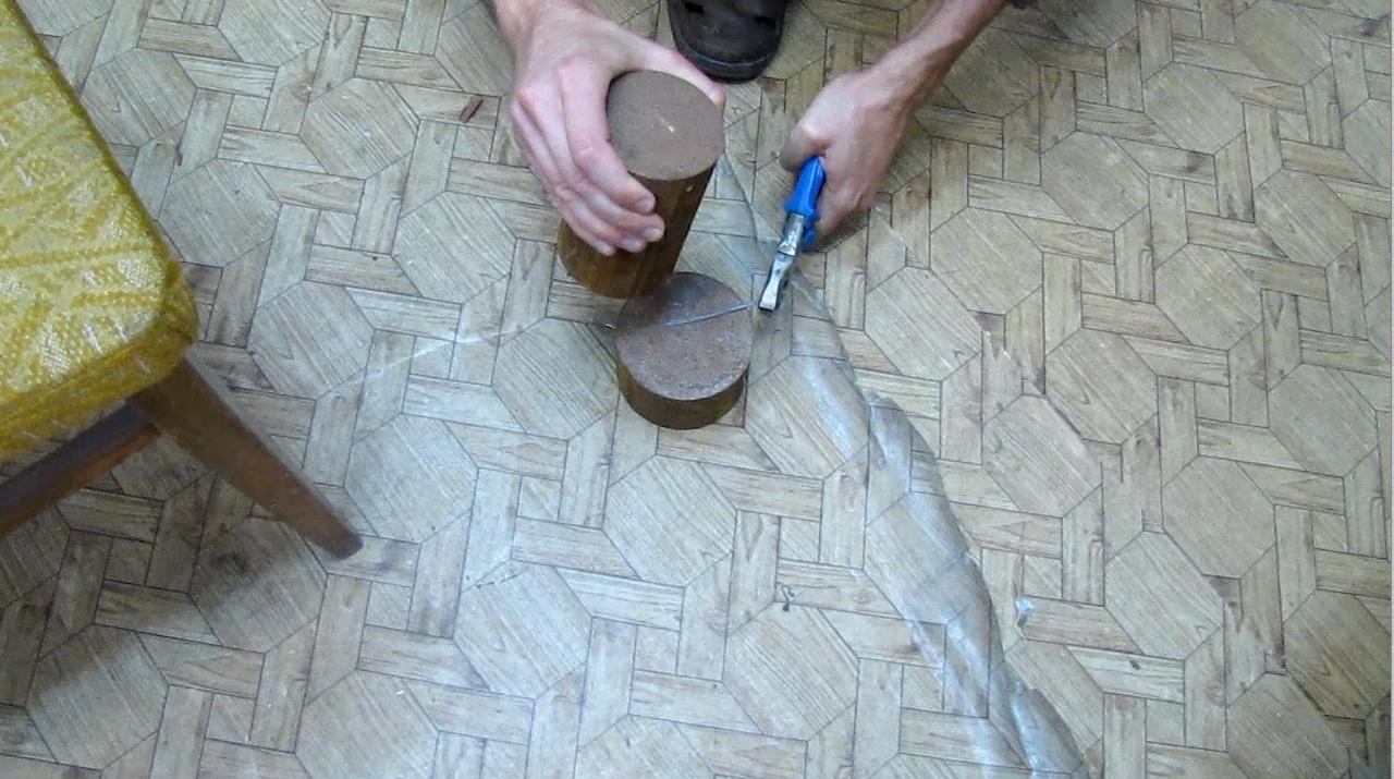 Разбивание гвоздя (неудавшийся эксперимент)