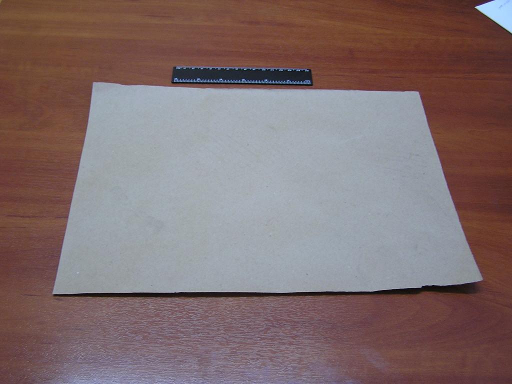 Как сделать бумажный пакет для лабораторных образцов