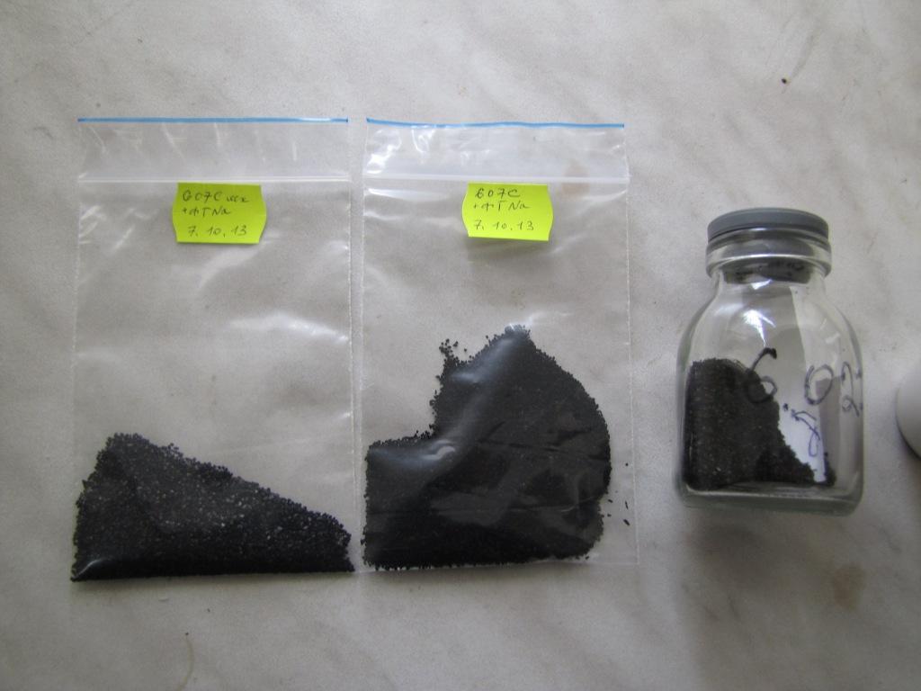Работа с активированным углем