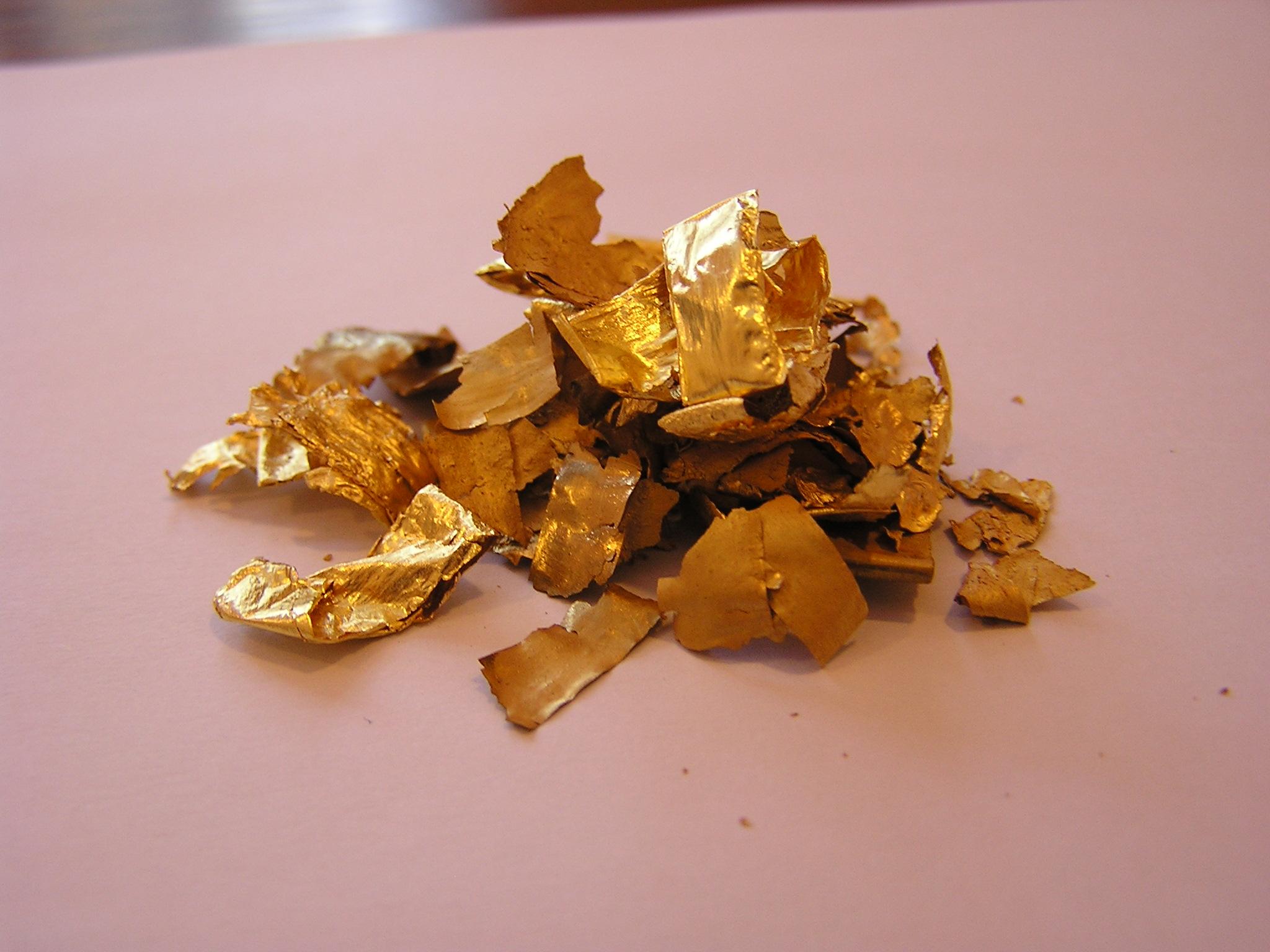 Анализ золотого сырья и готовой продукции