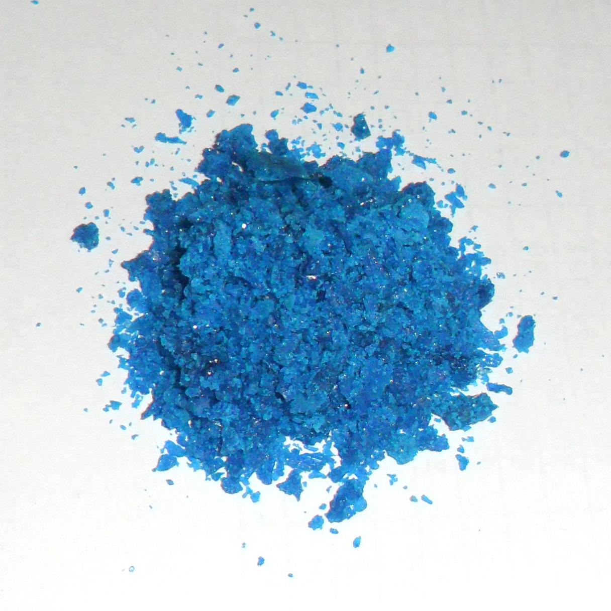 Кристаллы нитрата меди (II)