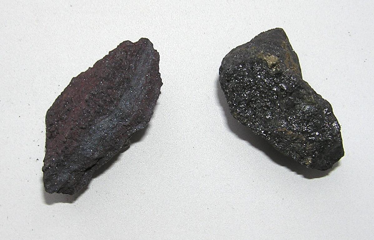 Гематит и магнетит