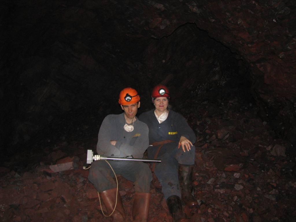 Минералы железа, железная руда, железорудная шахта