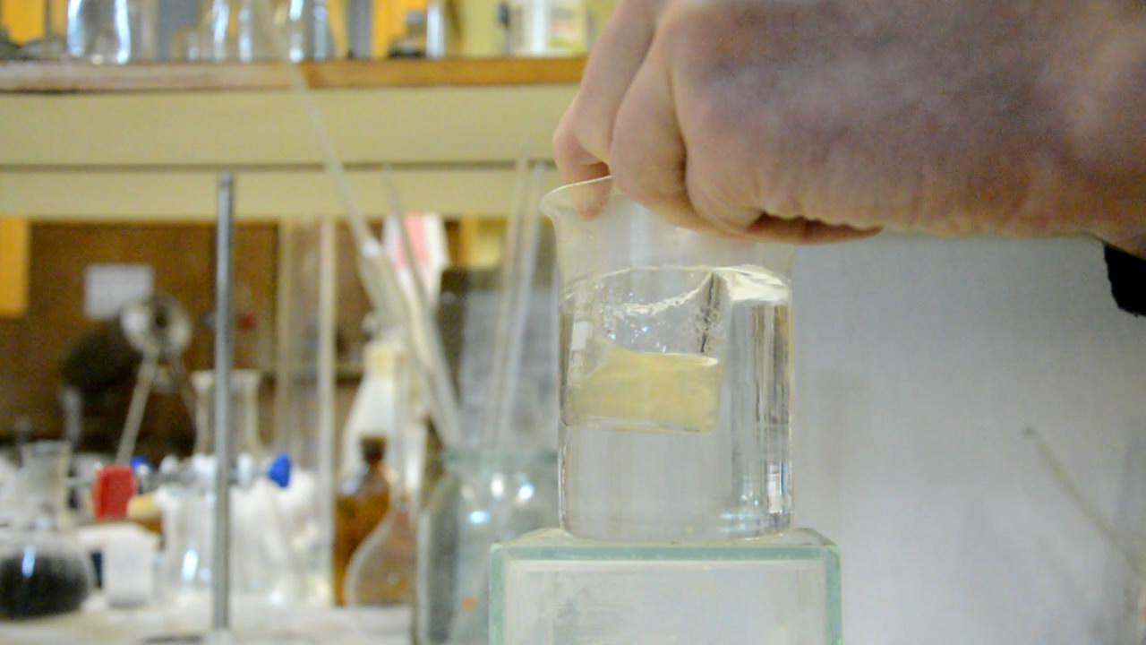 Растворение целлюлозы в фосфорной кислоте