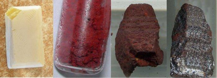 Белый (желтый), красный, фиолетовый и черный фосфор