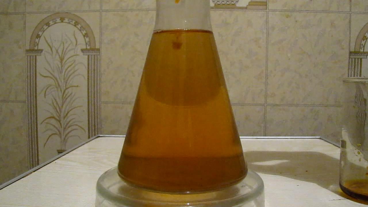 Green Tea and Iron (III) Chloride. Зеленый чай и хлорид железа (III)