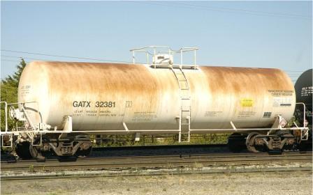Цистерна с сероуглеродом