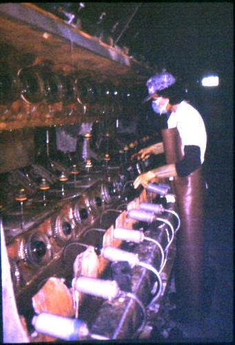 Производство вискозных волокон