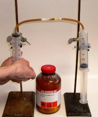Взаимодействие супероксида калия с диоксидом серы