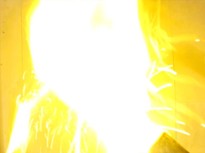 Реакция натрия и серы при нагревании в пробирке. Reaction of Sodium and Sulfur (Heating in Test Tube)