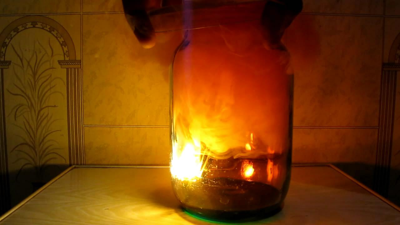 Burning of Red Phosphorus in Nitrogen Dioxide. Горение красного фосфора в диоксиде азота