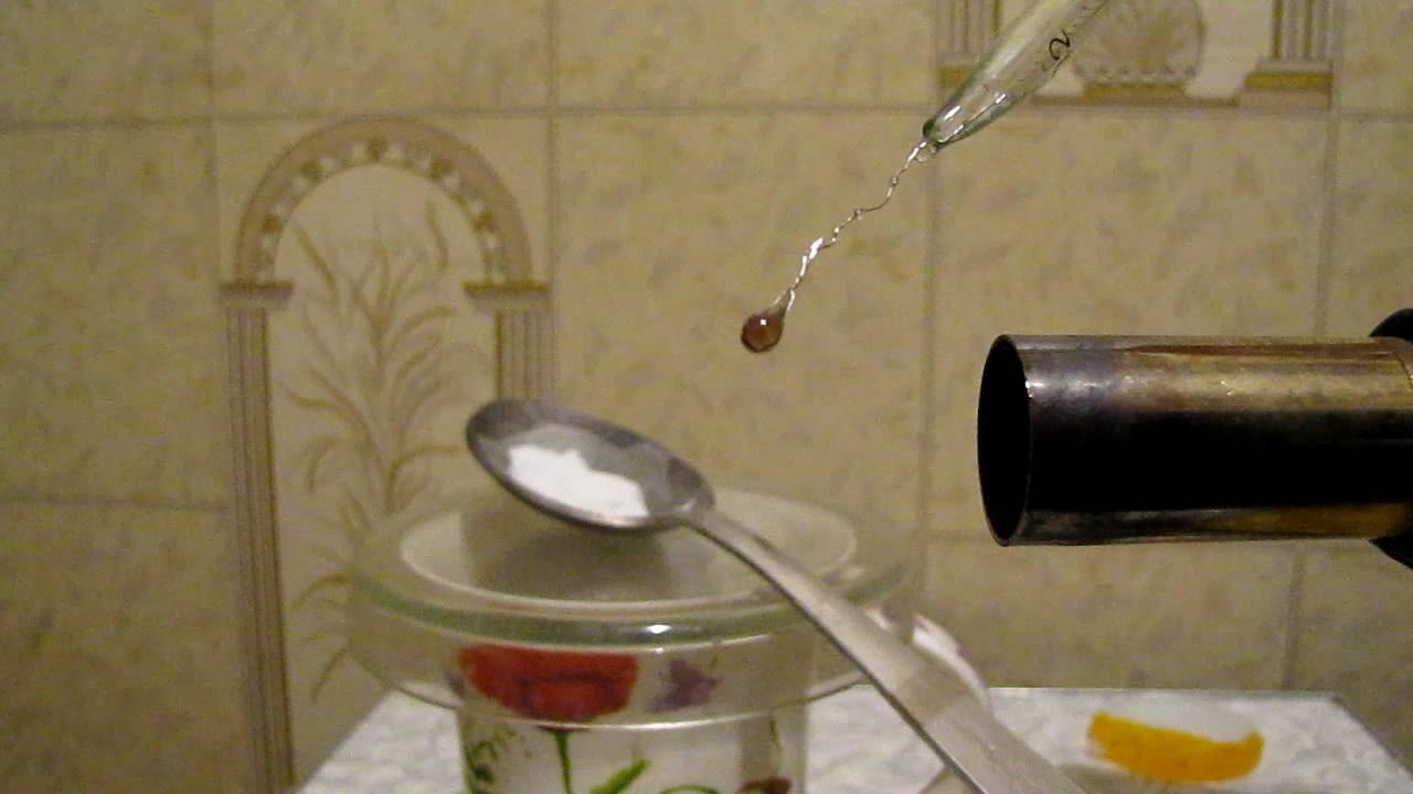 Перлы буры: хром. Borax bead tests: chromium