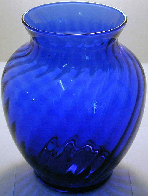 Кобальтовое стекло. Cobalt glass