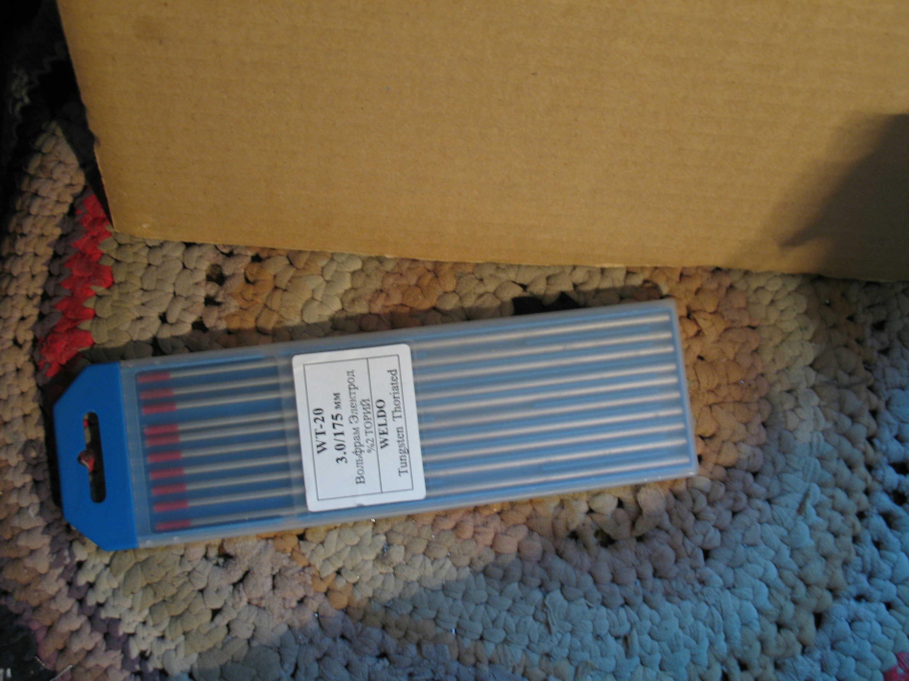 Торированные электроды для аргоно-дуговой сварки. Thorium electrodes