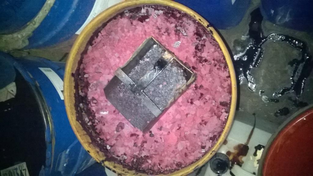 Хромовый ангидрид. Chromium trioxide