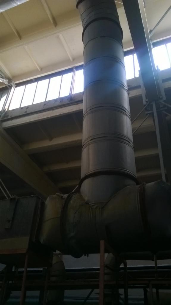 Цех гальваники. Вентиляция. Electroplating workshop. Ventilation
